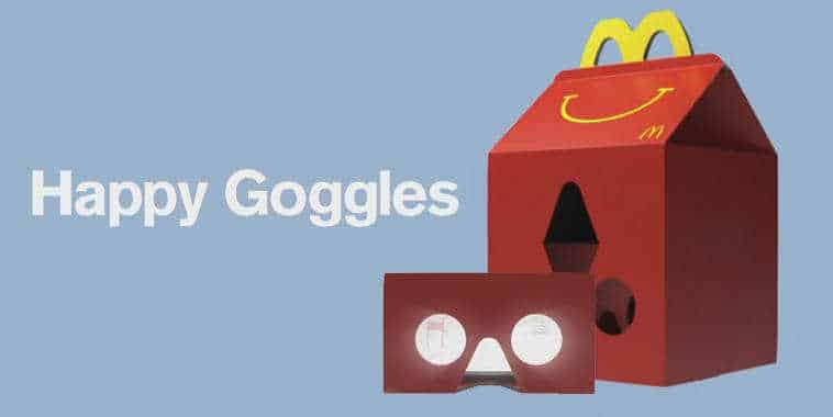 Happy Googles - McDonald