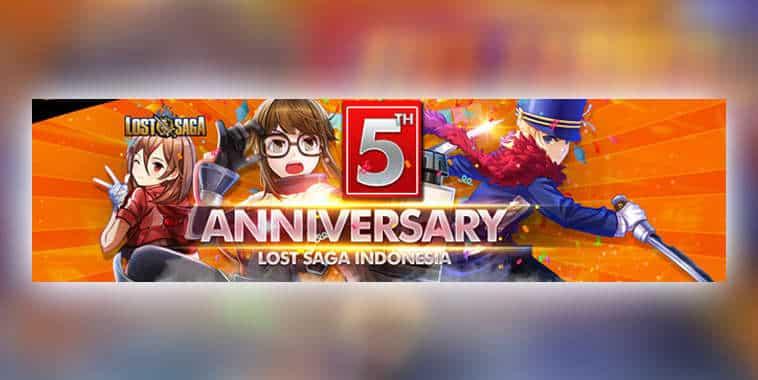 Lost Saga Anniversary Event