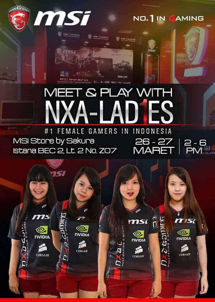 Meet & Play with NXA Ladies