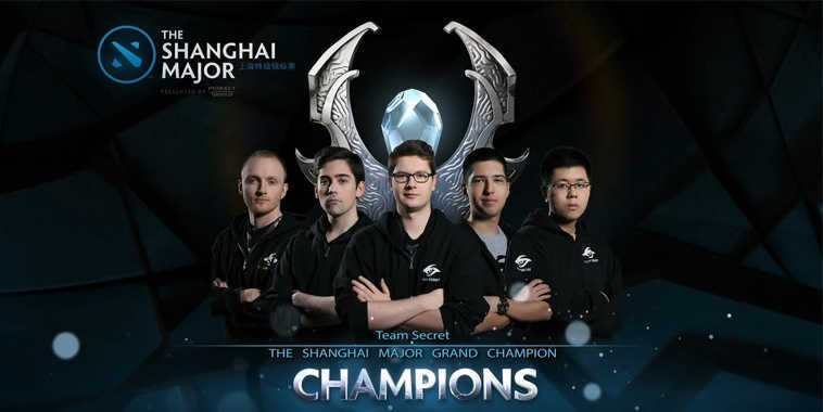 The Shanghai Major Champions