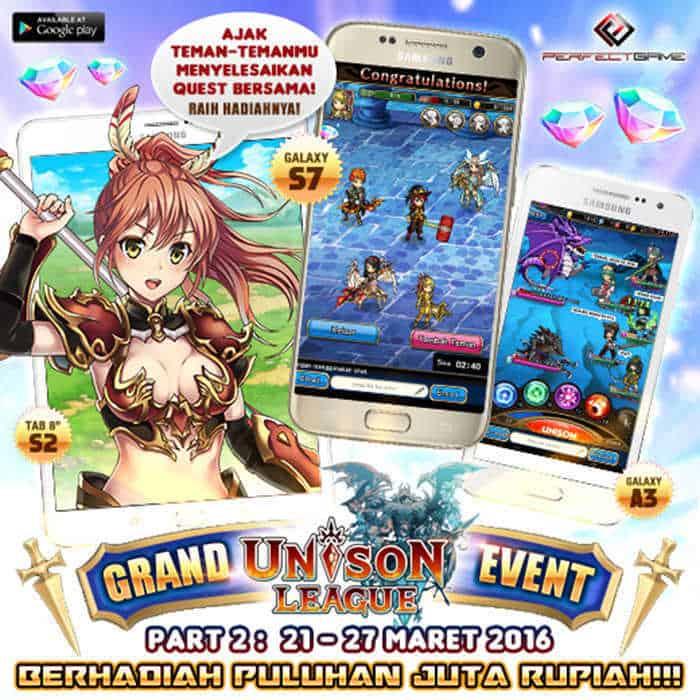 unison league indonesia event samsung s7