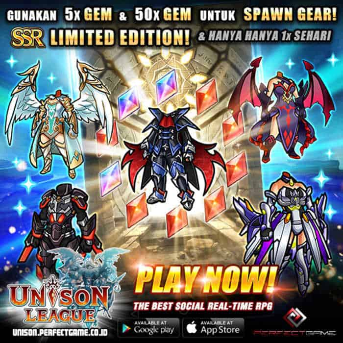 unison league indonesia special update event jabberwork quest