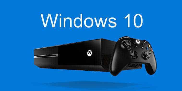 Windows 10 in Xbox One