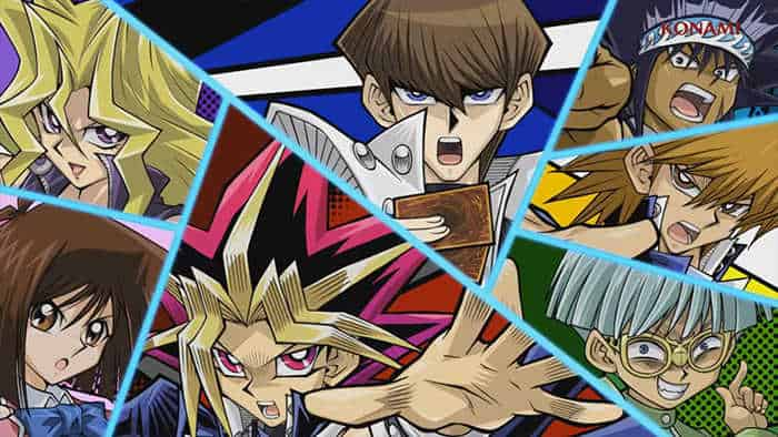 yu gi oh duel links characters