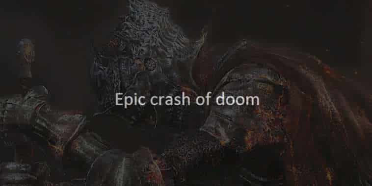 Dark Souls 3 Crash