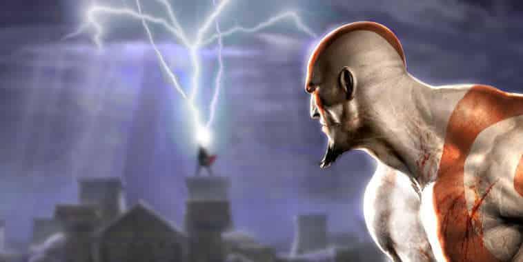 Kratos meets Thor Illustration
