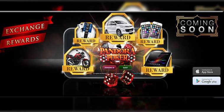 Pandora Poker, Game Poker yang Berhadiah Mobil