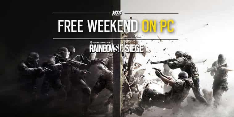 Rainbow Six Siege Free Weekend