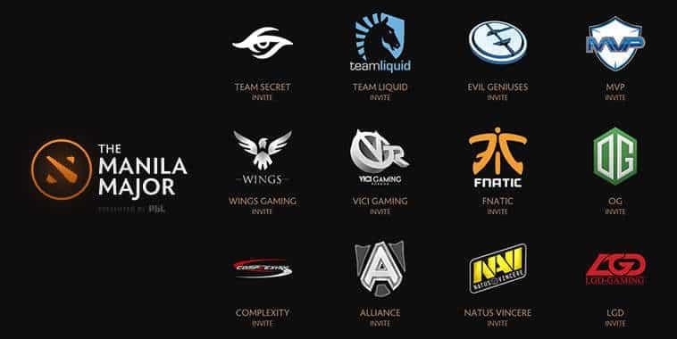 The Manila Major Invited Teams