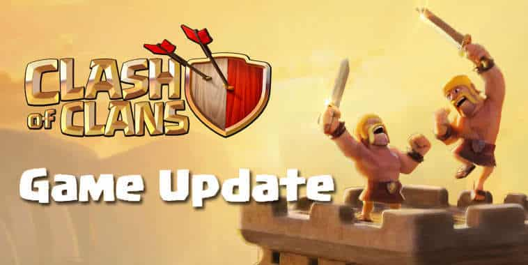 Clash of Clans Game Update