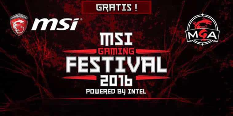 MSI Gaming Festival 2016
