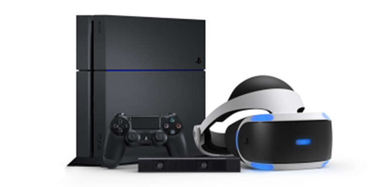 ps4 neo with sony VR