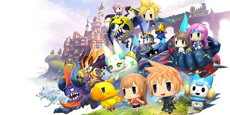 World of Final Fantasy Dipastikan Hadir Oktober 2016