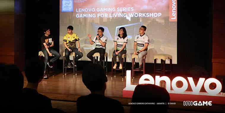 Lenovo Workshop 'Gaming For Living'