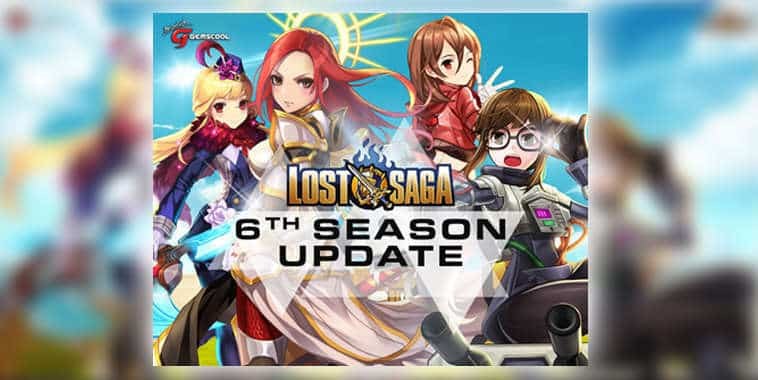 lost saga online indonesia 6 season update