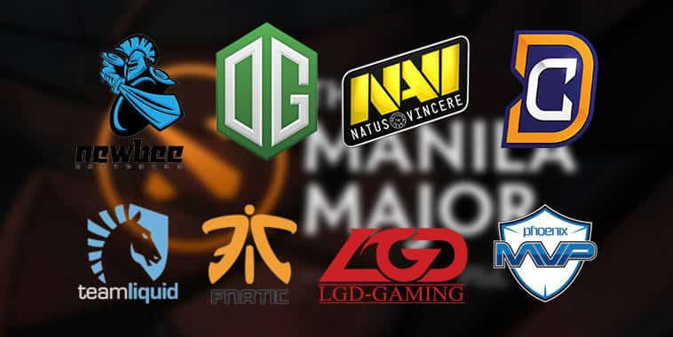 The Manila Major Team