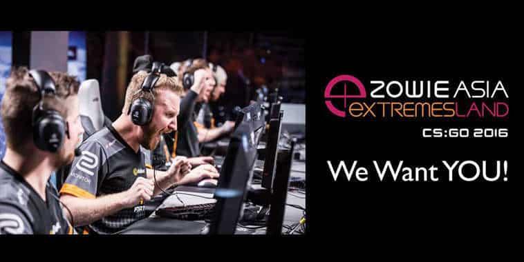 Zowie Asia eXTREMESLAND CS:GO 2016