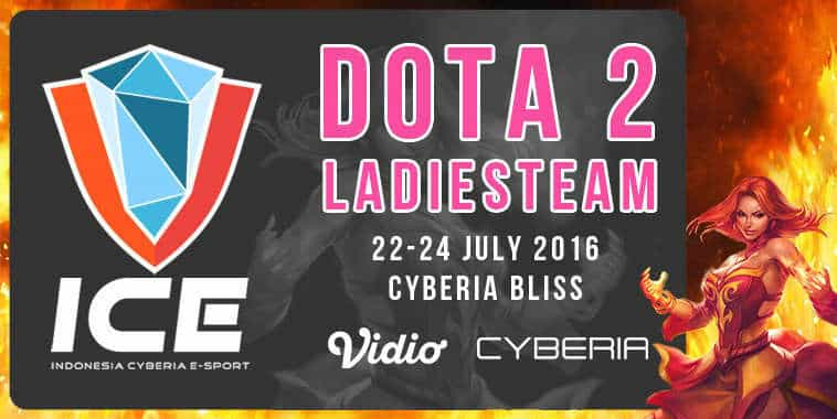 indonesia cyberia esports dota 2 ladies team