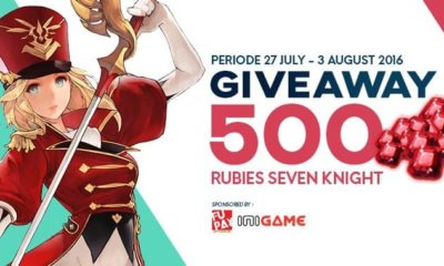 Giveaway 500 Ruby Seven Knight with FuPay