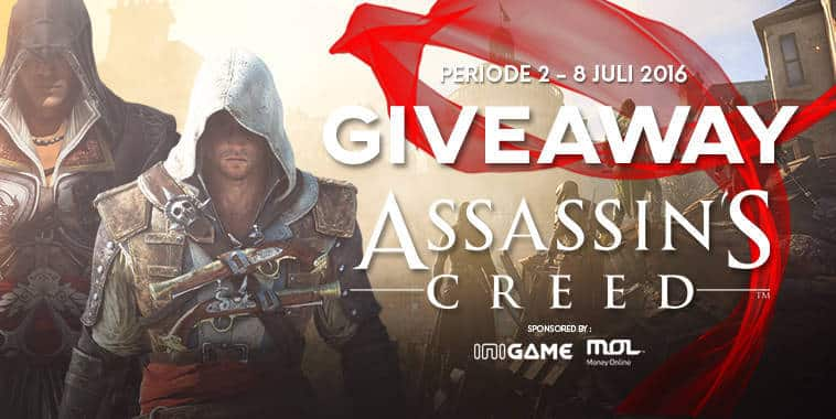 giveaway assassins creed edition gratis