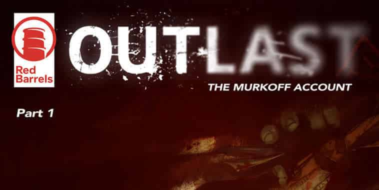 Outlast Comic