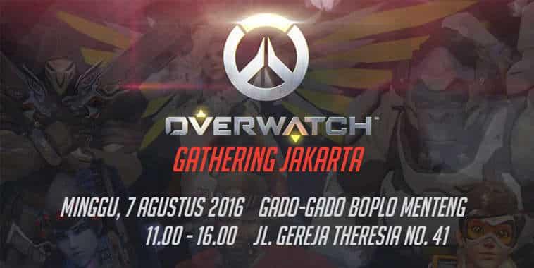 Overwatch Gathering Jakarta