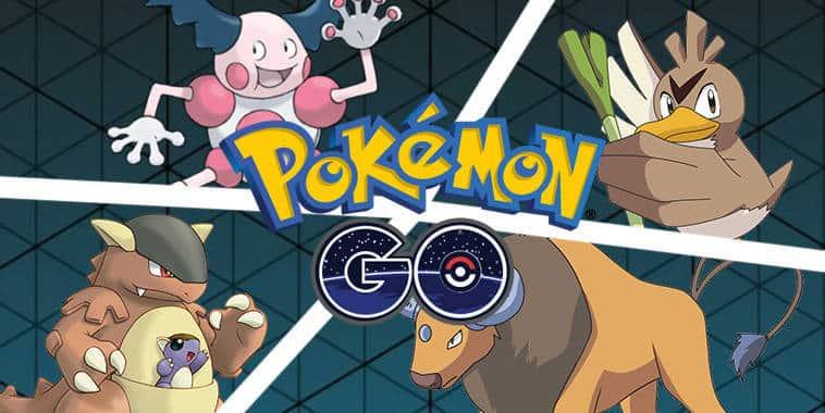 4 regional pokemon