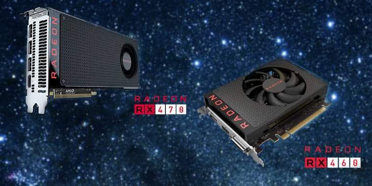 AMD Radeon RX 470 & RX 460