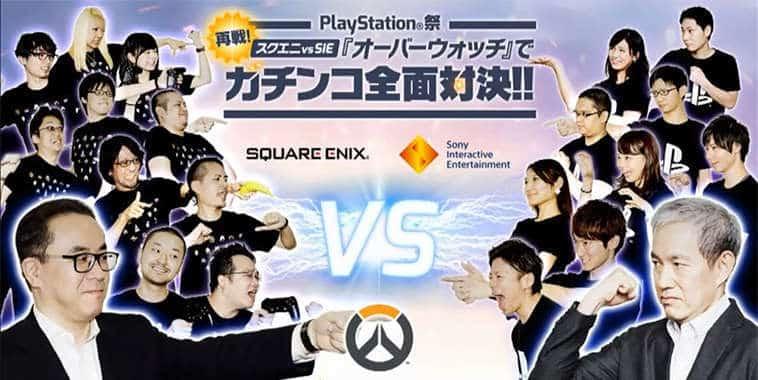 square enix vs sony overwatch