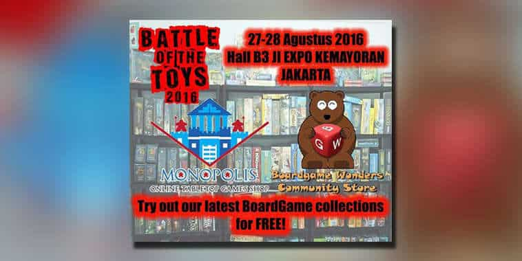 battle of toys 2016