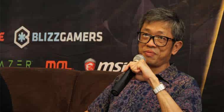 Eddy Lim (Presiden IeSPA)