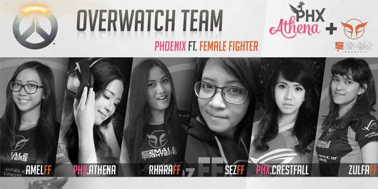 Overwatch PhoeniX ft. Female Fighters