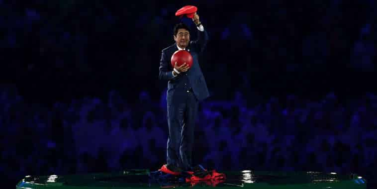 Shinzo Abe @Olimpiade Rio 2016