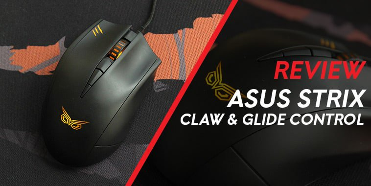 asus strix claw glide control review