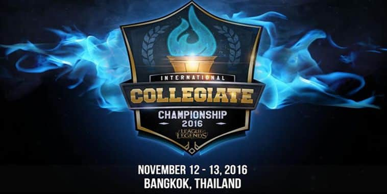 licc 2016 leauge international collegiate championship 2016