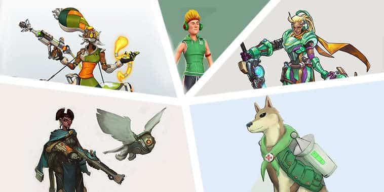 top 5 konsep hero overwatch