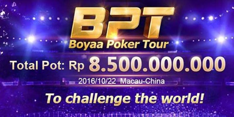 boyaa poker tour 2016