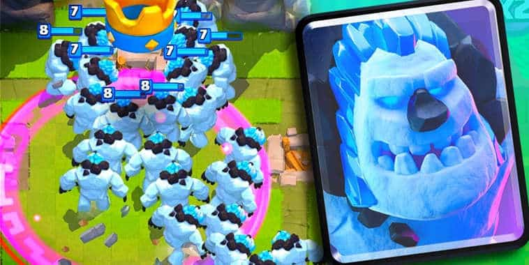 clash royale ice golem