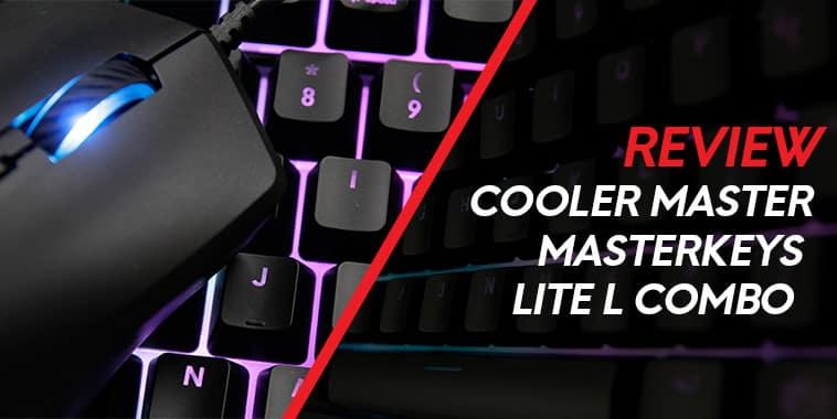 cooler master masterkeys lite l combo review