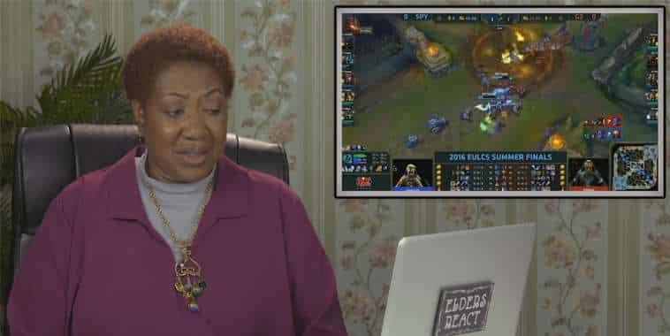 elders react to esports