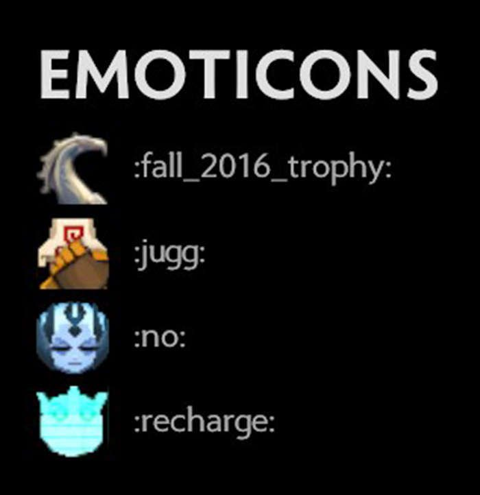 emoticons fall major 2016