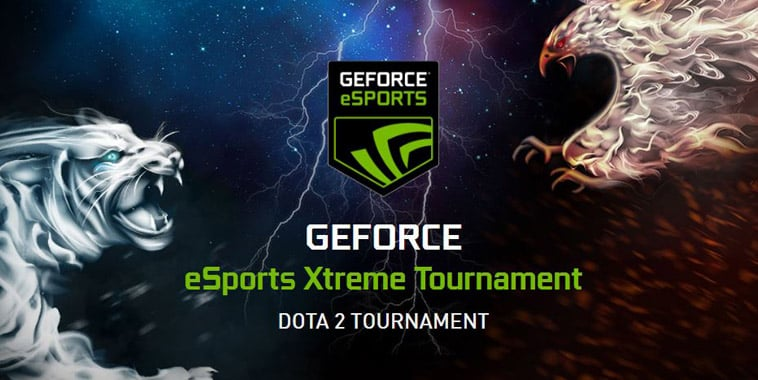 gext geforce esports xtreme tournament dota 2