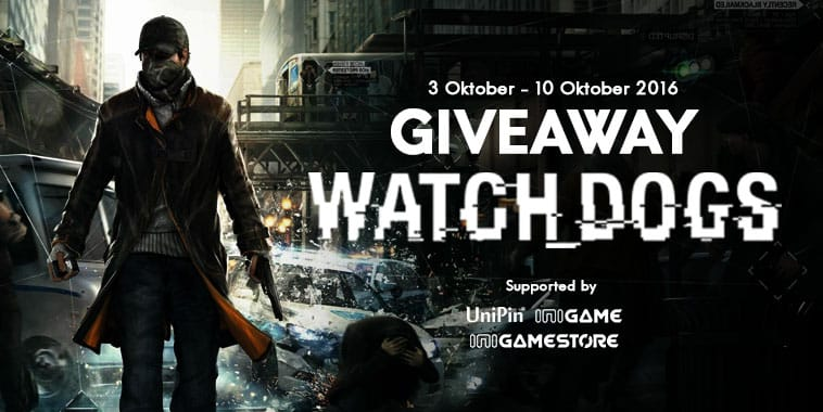 Giveaway Watch Dogs Complete Edition GRATIS