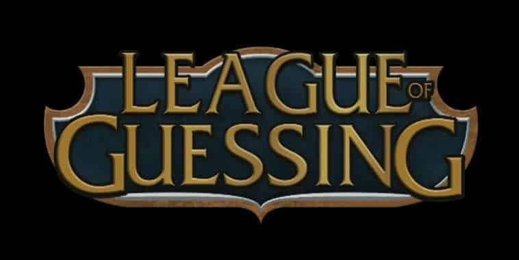 league of guessing