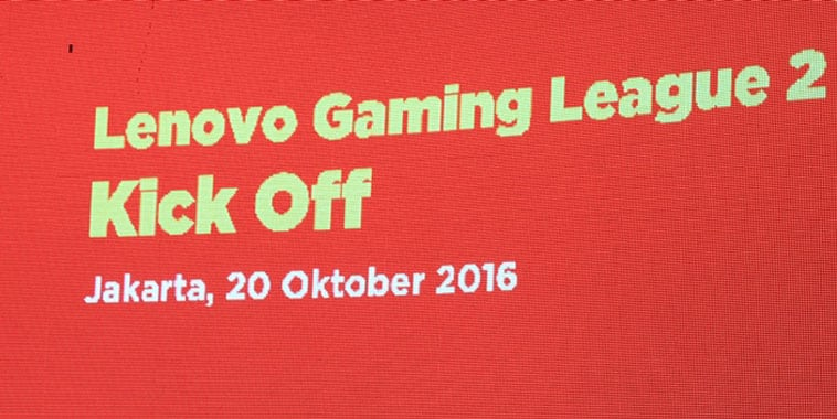 Lenovo Resmikan Pembukaan Lenovo Gaming League 2