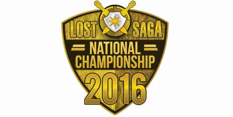 lost saga national champioship 2016