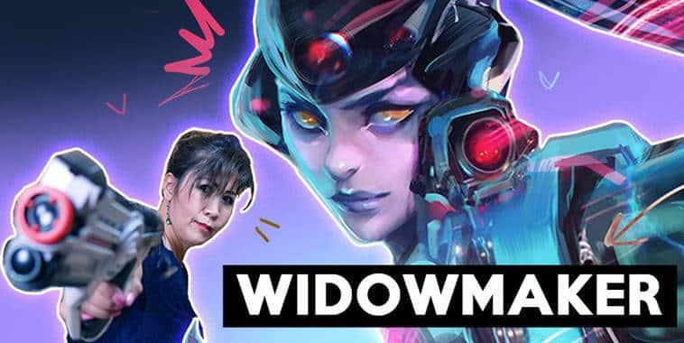 overwatch widowmaker rossdraws