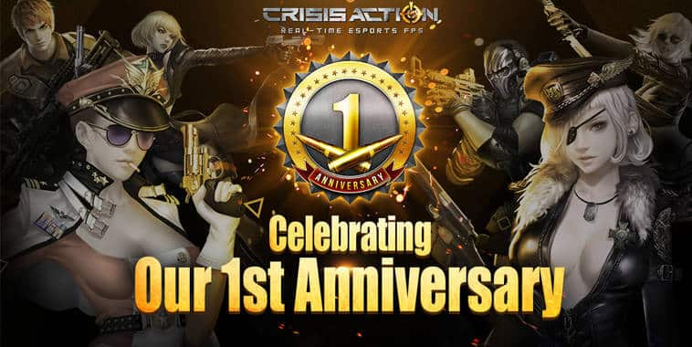 crisis action 1st anniversary