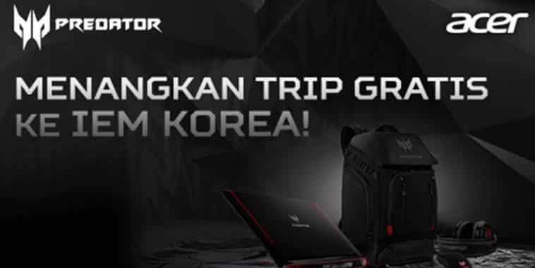 acer predator trip gratis korea