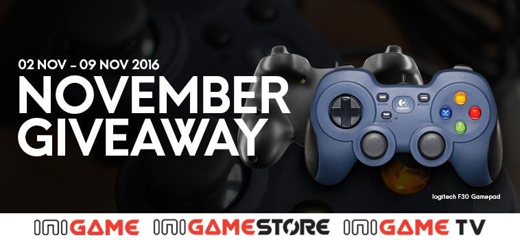 giveaway logitech f310 gamepad gratis